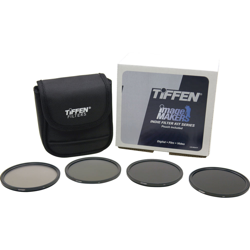 Tiffen_77mm_Indie_Standard_Infrared:Neutral_Density_Filter_Kit_Hire