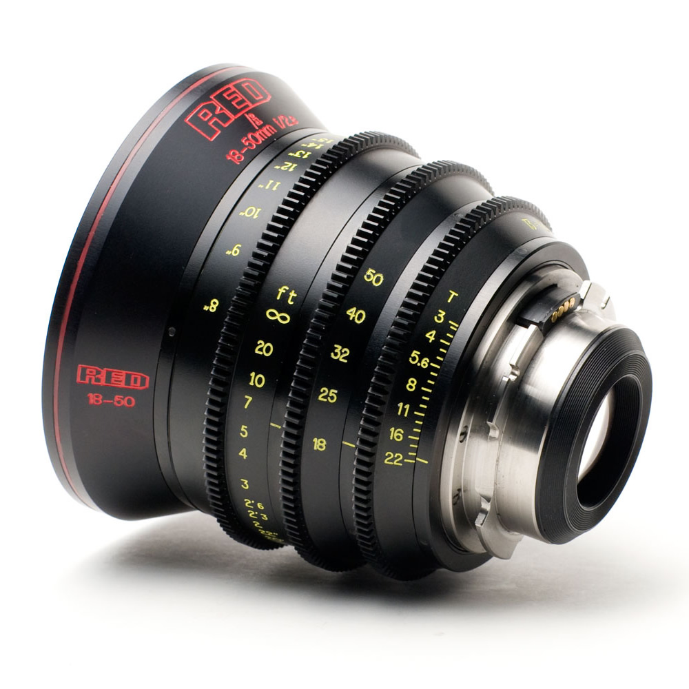 Red Pro Zoom 18 50mm T3 Pl Panny Hire