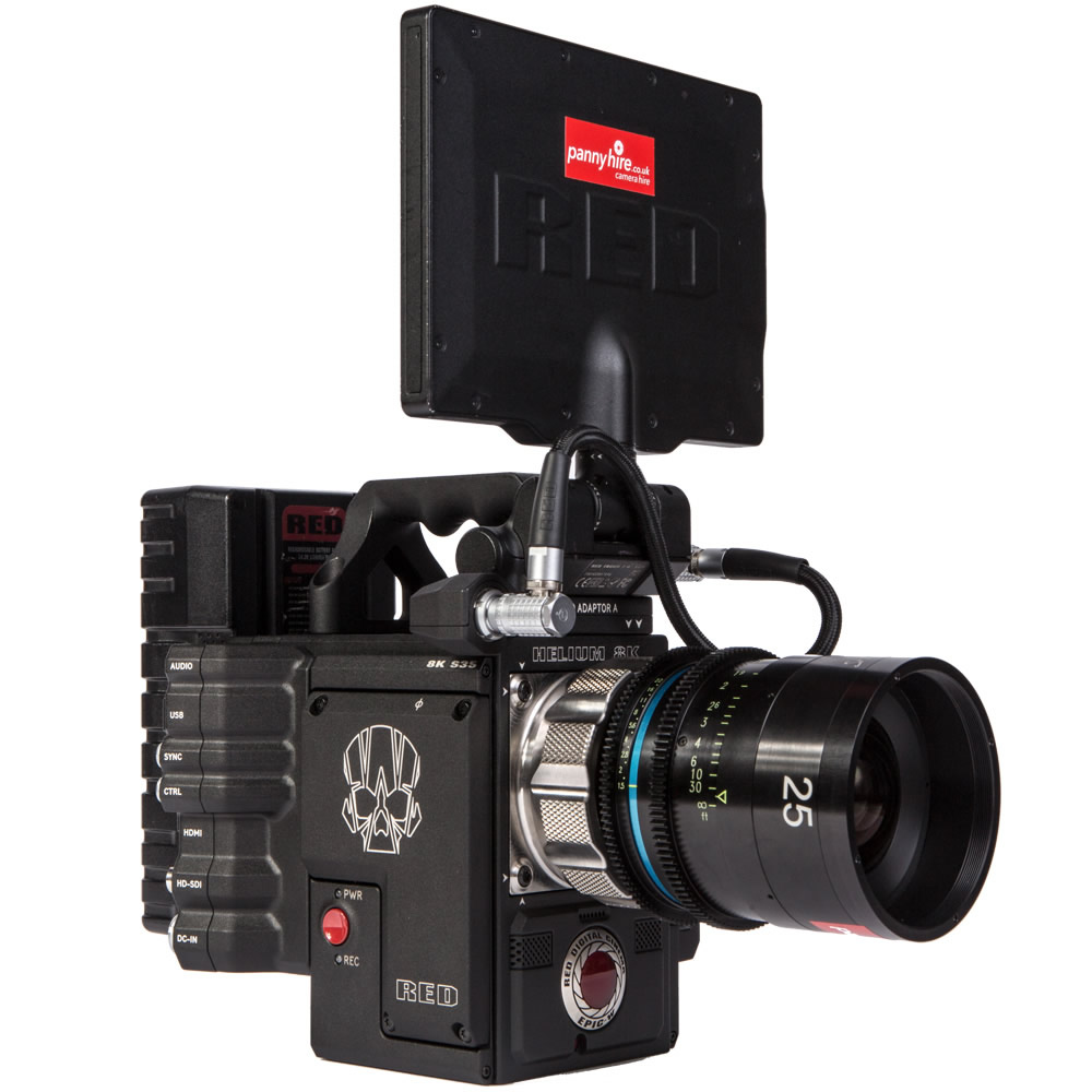 RED EPIC-W 8K   Panny Hire