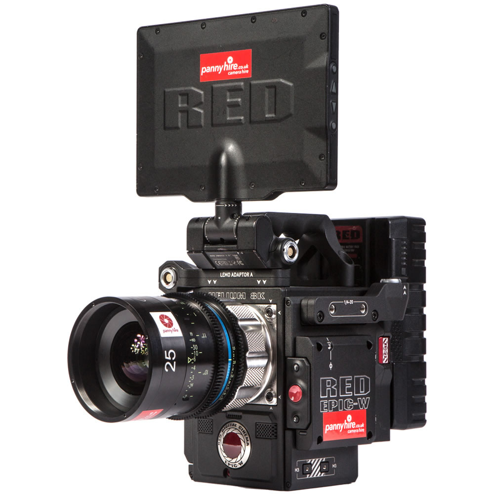 Red Epic W 8k Panny Hire